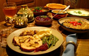 Vegetarian-Thanxgiving-dinner